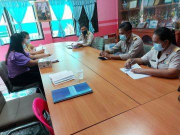โรงเรียนบ้านเขาศาลา จัดการประชุมครูและบุคลากรทางการศึกษา