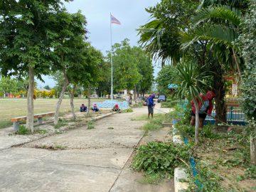 โรงเรียนวัดบ้านน้อย เตรียมความพร้อมการเปิดภาคเรียนที่ 1 ปีการศึกษา 2564