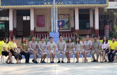 VTR นำเสนอผลการดำเนินงานของโรงเรียนบ้านอุโลกสี่หมื่น อ.ท่ามะกา