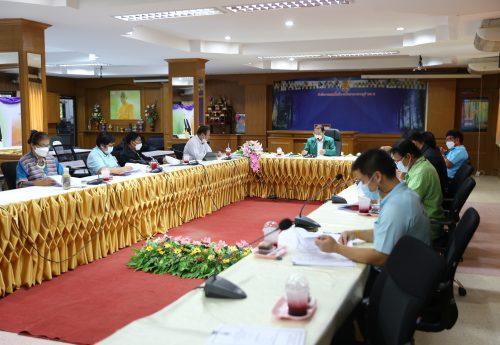 สพป.กาญจนบุรี เขต 2 ประชุมคณะกรรมการยกร่างคู่มือการประเมินสัมฤทธิ์ผลการปฏิบัติงานของข้าราชการครูและบุคลากรทางการศึกษา สายงานบริหารสถานศึกษา