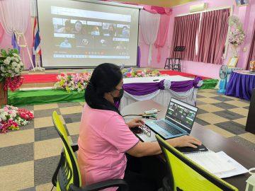 โรงเรียนบ้านซ่อง ประชุมผลิตและนำเสนอสื่อวีดีทัศน์